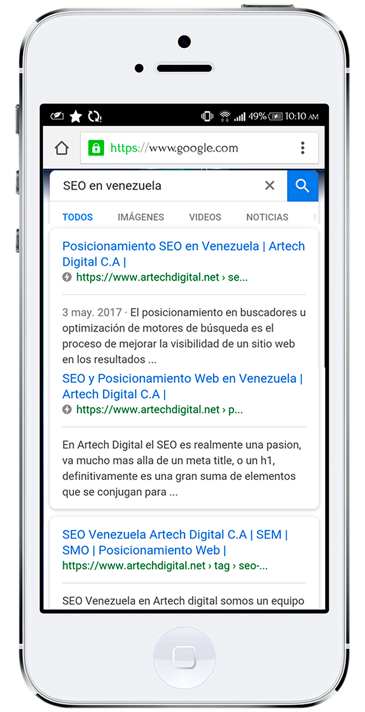 Iphone-SEO - Artech Digital