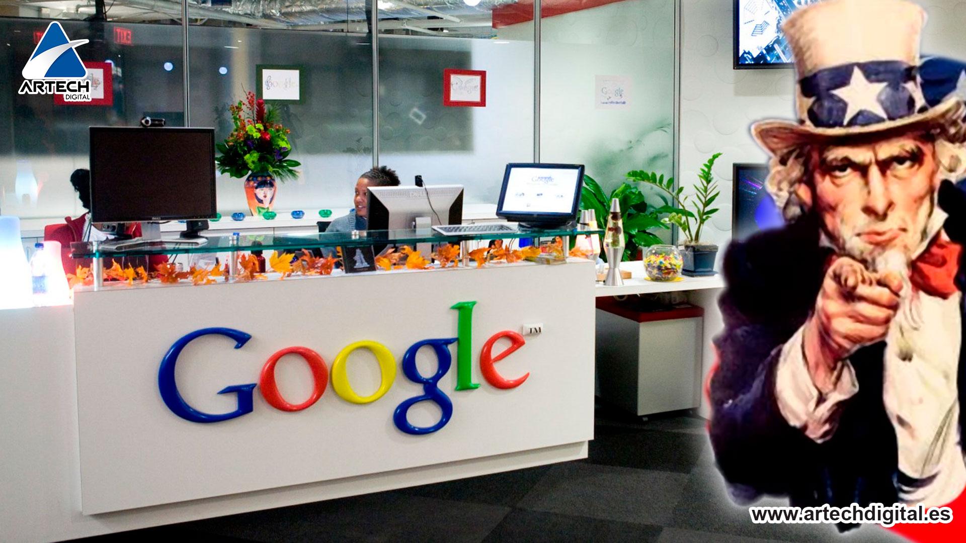 Investigación antimonopolio a Google - Artech Digital