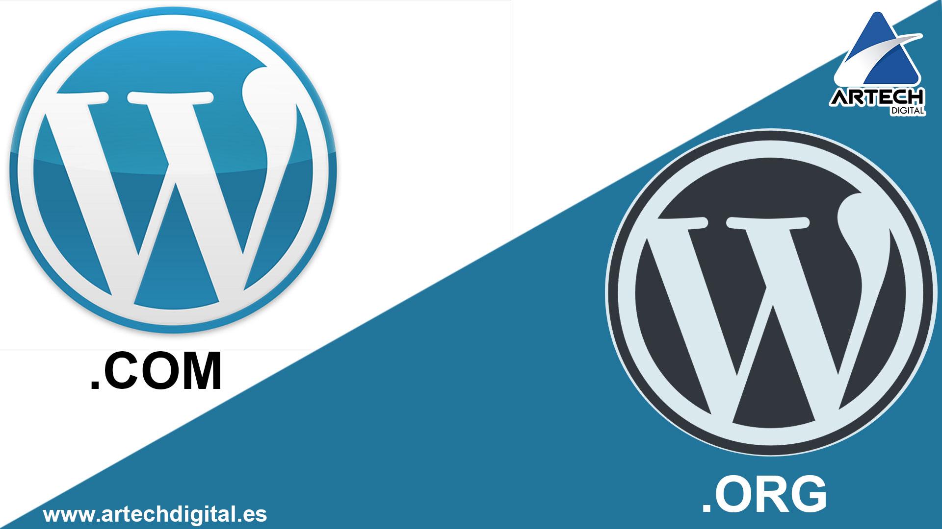 diferencias entre WordPress.Org y WordPress.Com
